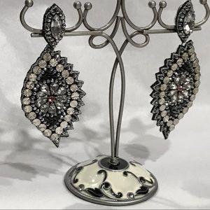 Jewelry - Rhinestones & Sequins & Beads, Oh My! Post Earring